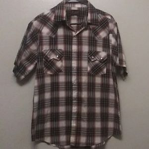 Men's Plains Western Pearl Snap Shirt